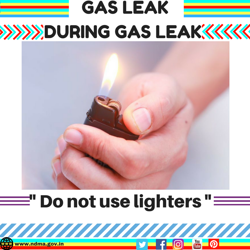 Don't use lighters