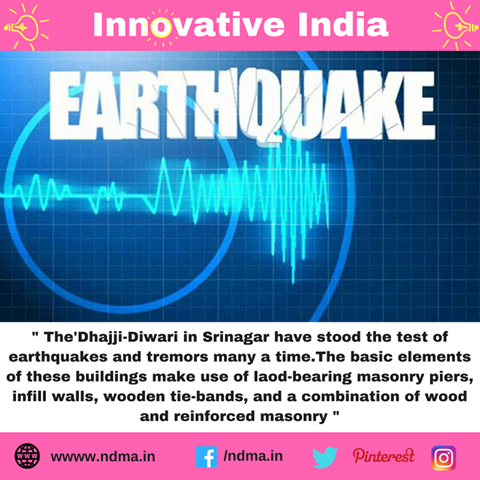 Dhajji-Diwari in Srinagar have stood the test of earthquake and tremors