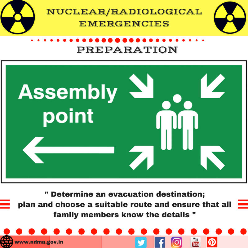 Determine an evacuation destination